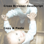 Cross-browser JavaScript Copy and Paste