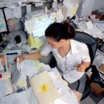 Your messy desk is killing your career