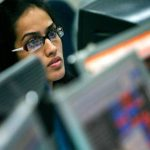 Sensex trades flat, Nifty below 7,900 ahead of derivatives expiry, Bharti Airtel top gainer