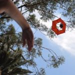 Portable camera parachute elevates aerial GoPro photography