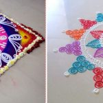 Make Rangoli's Best Design On Diwali Day