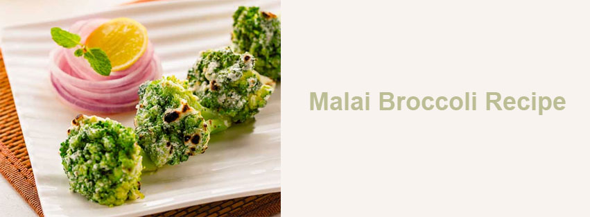 Malai Broccoli Recipe